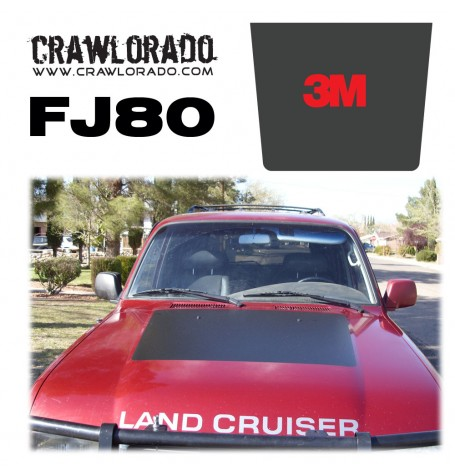 Land Cruiser FJ80 Hood Blackout